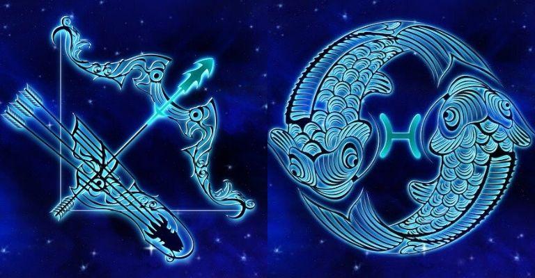 sagittario e pesci